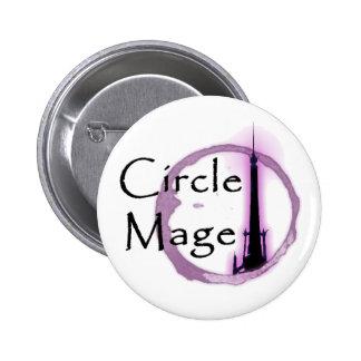 ¡Círculo Mage! botón Pin