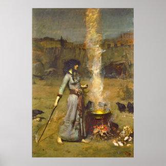 Círculo mágico 1886 póster