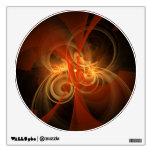 Círculo mágico del arte abstracto de la mañana