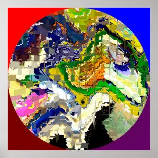Círculo mágico - planeta extranjero 1 póster