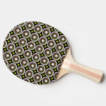 Círculo multicolor pala de tenis de mesa