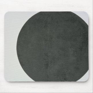 Círculo negro, c.1923 tapete de ratón