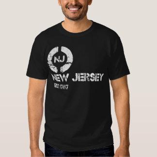 Círculo New Jersey est Playera