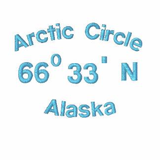 Círculo Polar Ártico, Alaska, 66, 0, 33, ', N Polo Bordado