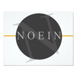 Círculo redondo de Noein Comunicado Personalizado