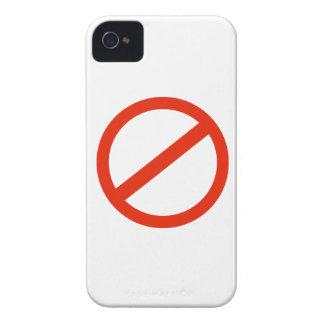 CÍRCULO ROJO iPhone 4 CÁRCASA
