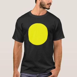 Círculo simple - amarillo playera
