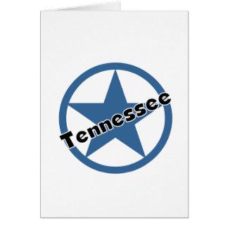 Círculo Tennessee Tarjeta De Felicitación