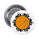 Círculo tribal del baloncesto pins