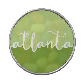 Círculo verde de Atlanta, Georgia el | Ombre Latas De Caramelos