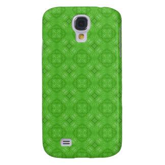 Círculo verde de moda Pern Funda Para Galaxy S4
