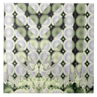Círculos abstractos azulejo cuadrado grande