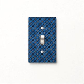 Círculos abstractos elegantes del gris azul tapas para interruptores