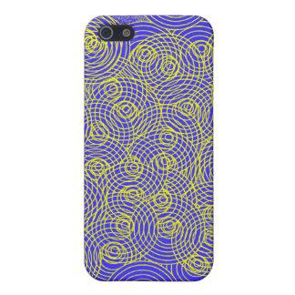 Círculos abstractos, ningún caso del iPhone 2 (del iPhone 5 Carcasa
