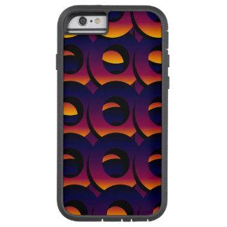 Círculos acodados crepúsculo funda de iPhone 6 tough xtreme