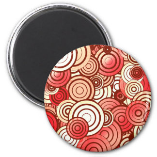 Círculos acodados imán redondo 5 cm