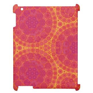 Círculos anaranjados del fractal