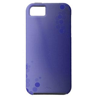 Círculos azules iPhone 5 Case-Mate coberturas