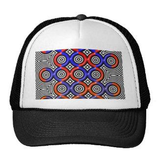 Círculos, círculos por todas partes gorras