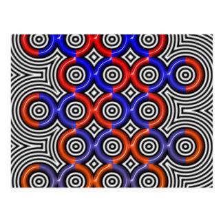 Círculos, círculos por todas partes postales