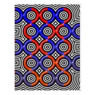 Círculos, círculos por todas partes tarjetas postales