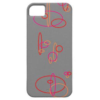 Círculos circundados funda para iPhone SE/5/5s