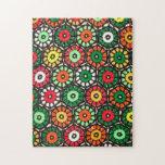 Círculos Crocheted de la abuelita Puzzles Con Fotos