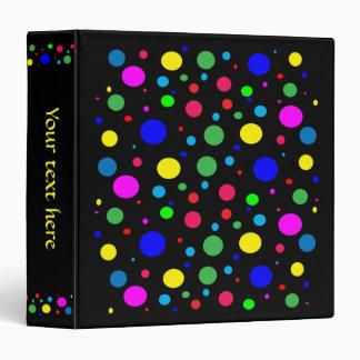 Círculos de color alegres