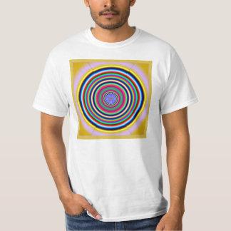 Círculos de color Dizzying Polera