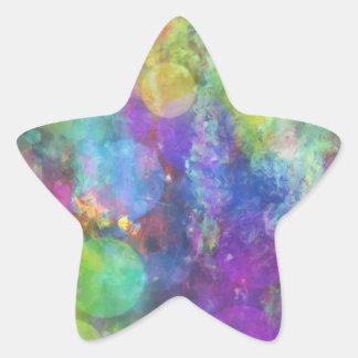 Círculos de color en colores pastel