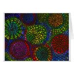 Círculos de color felicitacion