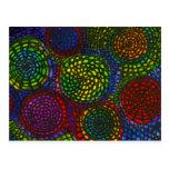 Círculos de color postal