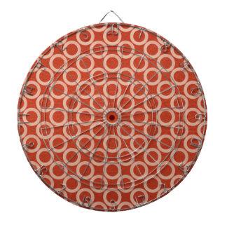 Círculos de color REALES Energía roja rica en n d Tablero De Dardos