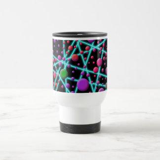 Círculos de color tazas de café