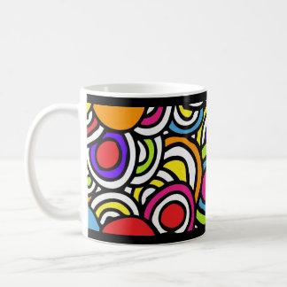 Círculos de color - taza