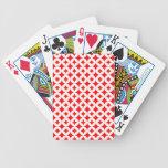 Círculos de diamantes barajas de cartas
