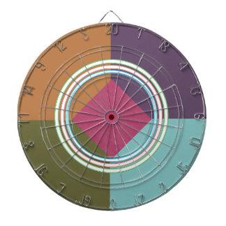 Círculos de la balanza y de la chispa del COLOR D Tablero Dardos