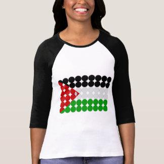 Círculos de la bandera de Palestina Camisetas