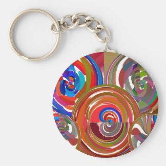 Círculos de la limpieza de la aureola - mandala 7  llaveros