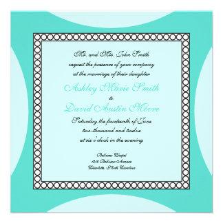 Círculos de la MOD - invitación del boda de la tur