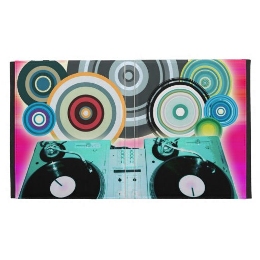 Círculos de la placa giratoria de DJ