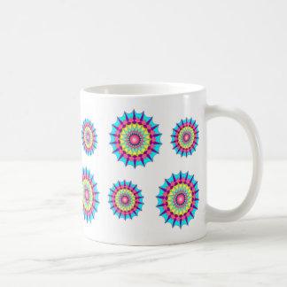 Círculos de la taza del color