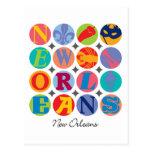 Círculos de New Orleans Postales
