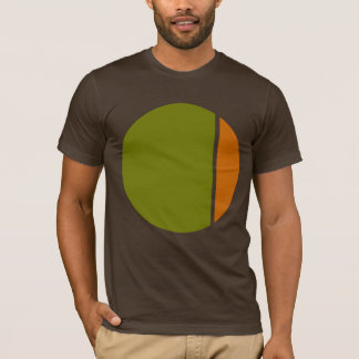 círculos del agolpamiento del color playera