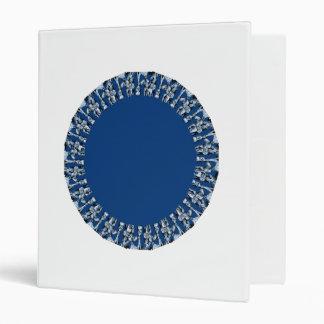 círculos del azul real