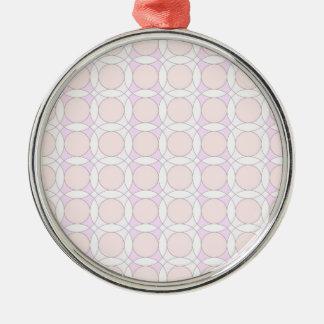 círculos del diseño 70s rosados