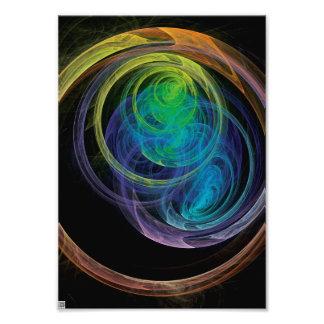 Círculos del espacio fotografía