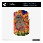 Círculos del pavo real calcomanías para iPod touch 4G