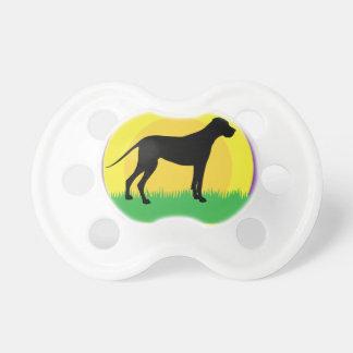 Círculos del perro chupetes para bebes