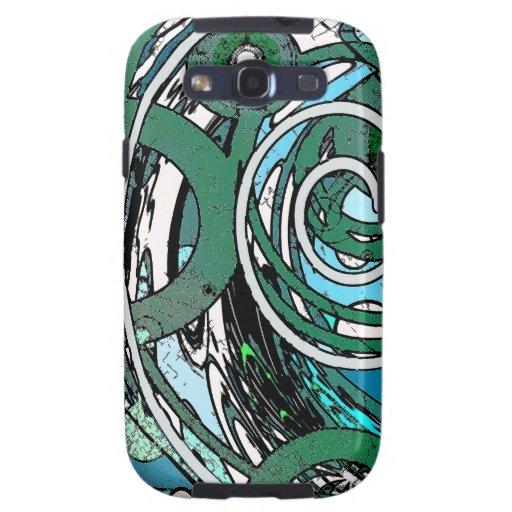 Círculos del tween - diseño abstracto galaxy s3 protector